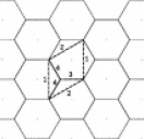 Graphene as a hexagonal 2-lattice: Evaluation of the in-plane material constants...